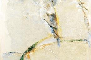 Linee d'energia - 10/2003, acrilico su tela, cm. 200x130