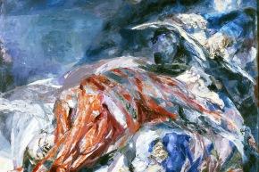La famiglia del pittore - 1961,olio su tela, cm. 122x154