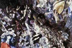 L'annunciazione - 1964, olio su tela, 180x140