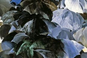 Composizione senza vuoti - 1969, olio su tela, cm. 220x170