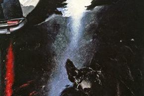 Pantheon - 1978-1979, olio su tela, cm. 250x100