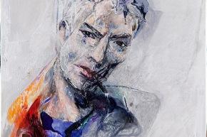 Autoritratto - 2010, acrilico su tela, cm. 60x60
