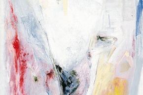 Luce e gravità - 2002, acrilico su tela, cm. 72x58