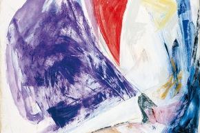 Il limite delle cose - 2002, acrilico su tela, cm. 80x100