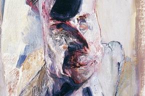 """Studio per """" un ritratto n° 4 - 2006 acrilico su tela, cm. 50x40"""