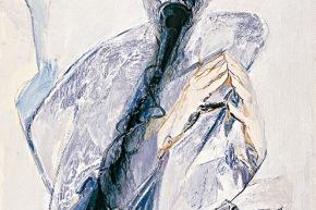 Padoa-Schioppa - 2007, acrilico su tela, cm. 90x60 (coll. Schioppa)