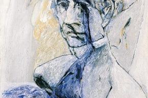 Berlioz - 2007, acrilico su tela, cm. 62x58