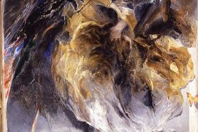 Lente festinans - 1988, olio su tela, cm. 162x130