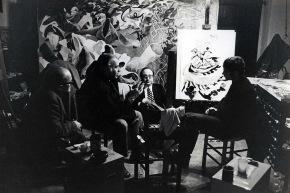A studio con Dario Micacchi - 1971
