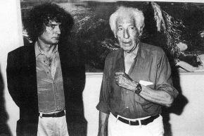 Calabria con il critico A. Verdet - 1988