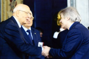 Calabria con Napolitano al premio V. De Sica - 2006