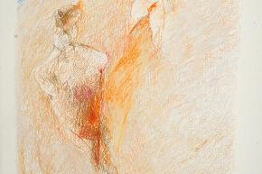 Ricordo di Baratti - 2009, pastello su carta, cm. 56x38