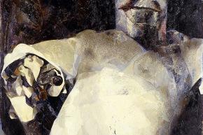 Stalin - 1964,olio su tela, cm. 108x80