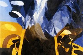 Erhard - 1966, olio su tela, cm. 100x70