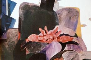 Gramsci - 1967, olio su tela