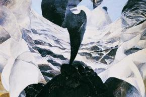Gandhi - 1971, olio su tela, cm. 80x90