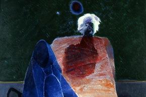 Einstein - 1981, olio su tela, cm. 100x80
